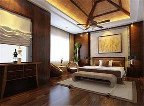 北欧风格奢华大气卧室装修效果图