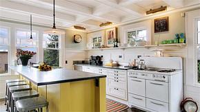 別墅簡約風格廚房裝修效果圖