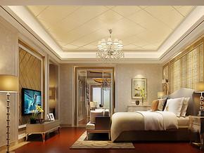 欧式精装三室两厅两卫效果图