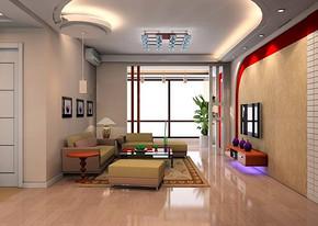 简约小客厅装修效果图