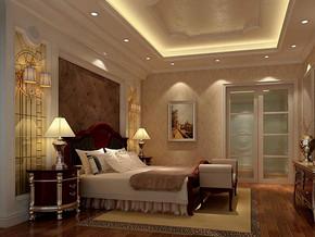 簡歐風格臥室裝修設計效果圖