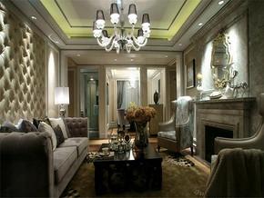 现代奢华风格别墅装修效果图