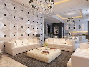 現代風格客廳裝修設計效果圖