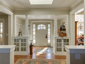 簡約歐式風格玄關門廳裝修圖片