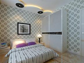 現代簡約15平小臥室裝修效果圖