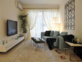 现代风格客厅室内装修效果图