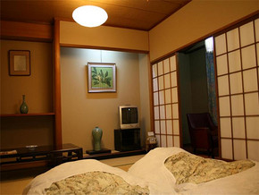 傳統日式兩室裝修效果圖