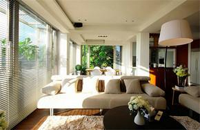 现代风格乡村别墅客厅装修效果图