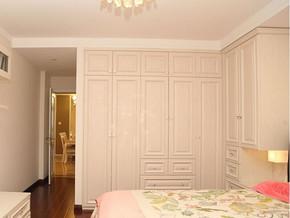 欧式风格卧室整体衣柜装修效果图