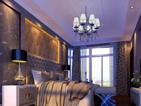 楼房简约风格卧室装修效果图