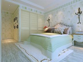簡約風格臥室裝飾效果圖