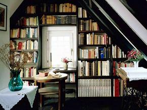 簡約風格小書房裝修效果圖