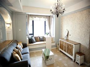 法式風格客廳裝修圖片
