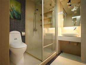 现代风格洗浴室装修效果图