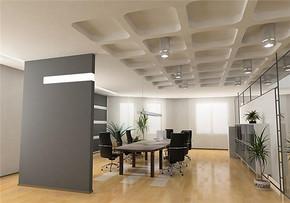 現代風格公司會議室裝修效果圖