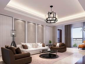 兩室一廳簡約風格客廳裝修效果圖