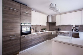 廚房樣板間裝修設計效果圖