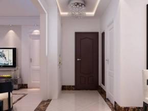 两室一厅玄关装修效果图
