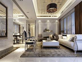 新古典風格客廳效果圖