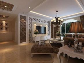 简欧风格客厅宜家家庭装修效果图