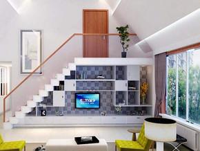 现代风格客厅电视柜装修效果图