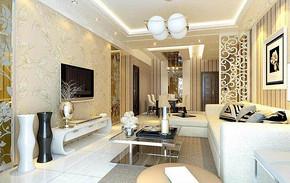 三室两厅家装设计效果图