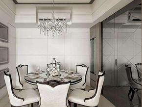 现代简约风格餐厅装修效果图