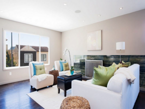 現代溫馨風格客廳裝修效果圖
