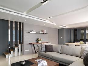 177平米現代簡約風格復式樓室內裝修效果圖