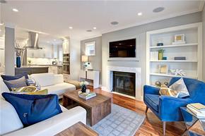 現代風格豪華客廳裝修效果圖