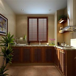 現代簡約風格小廚房裝修效果圖