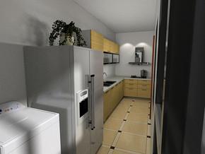 家庭廚房裝修效果圖