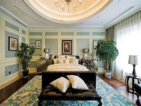 现代古典风格卧室装修效果图