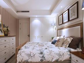 浪漫美式田园风格卧室装修效果图