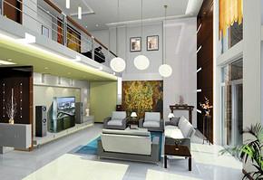 最时尚的别墅装修家居图片