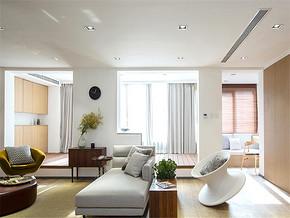 170平北欧风格装修客厅吊顶装修