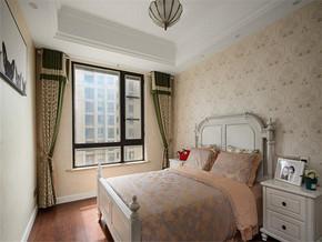 简约欧式卧室装修效果图