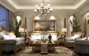 别墅豪华风格客厅装修效果图