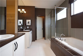 大户型现代混搭风格卫生间装修效果图