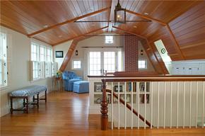 簡約風格美式別墅客廳裝修效果圖