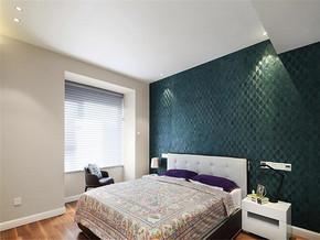 沉稳时尚现代三室装修效果图