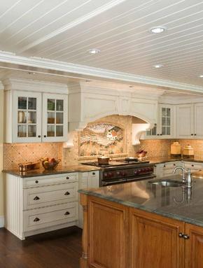 简欧风格厨房橱柜装修效果图