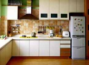 廚房瓷磚鋪貼效果圖