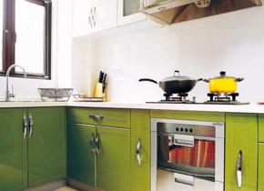 现代清新风格厨房装修效果图