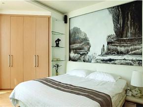 現代簡約風格15平米臥室裝修圖片
