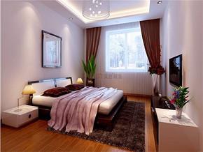 現代臥室照片墻設計裝修效果圖