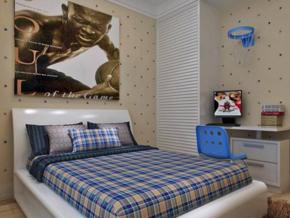 男生卧室装修效果图
