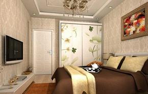 现代欧式卧室效果图