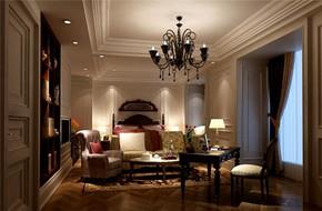 美式轻奢小卧室装修效果图