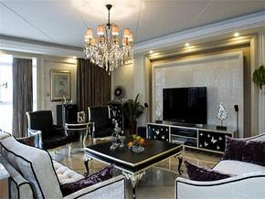 新古典風格客廳裝修圖片